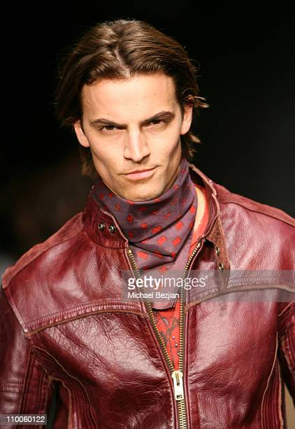 Model wearing Monarchy Collection Fall 2007 during Mercedes-Benz Fall 2007 L.A. Fashion Week at Smashbox Studios - Monarchy Collection at Smashbox...
