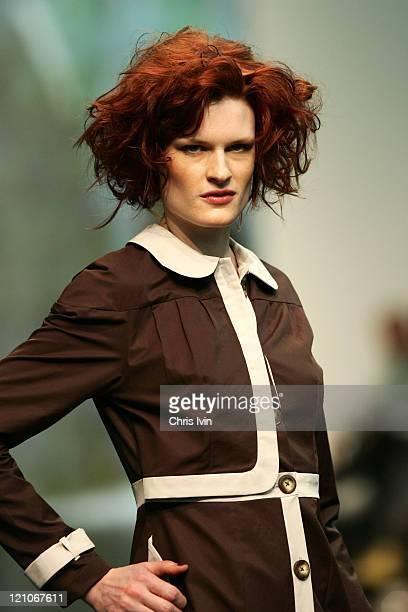 Model wearing New Generation Autumn/Winter 2006 during Australian Fashion Week Autumn/Winter 2006 - New Generation - Runway at Australian Fashion...