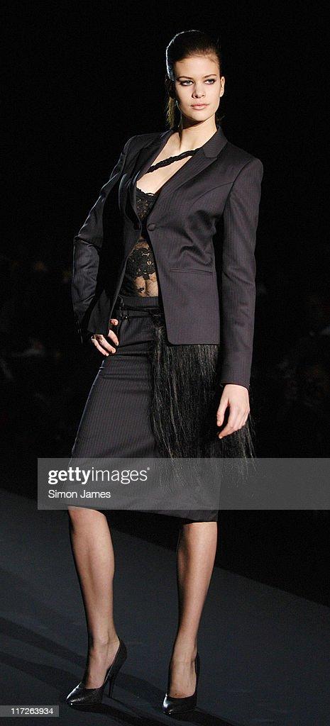 London fashion week 2006 91