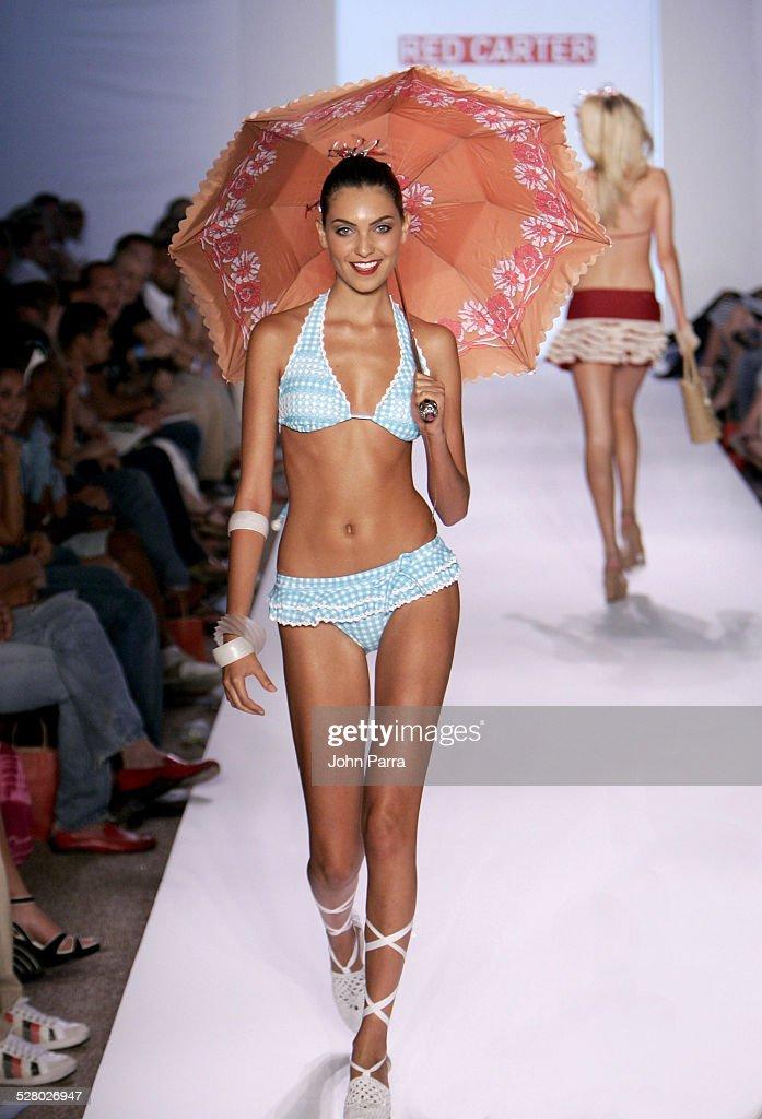 Sunglass Hut Swimwear Shows Miami  Red Carter Runway News Photo