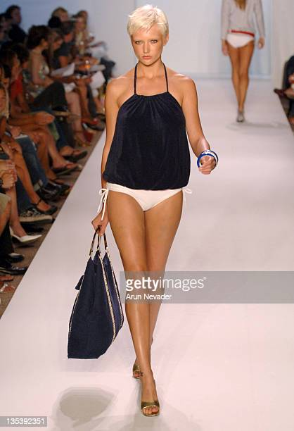 Model wearing Shay Todd Summer 2007 during Sunglass Hut Miami Swim Shows Presented by LYCRA - Shay Todd - Runway at The Raleigh Hotel in Miami,...