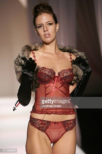 Model wearing Triumph Spring/Summer 2006 during Singapore Fashion Festival 2006 - Triumph International Presents Decadence and Desire - Runway at The...
