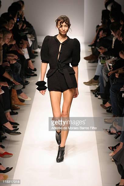 Model wearing Veronique Leroy Spring/Summer 2007 during Paris Fashion Week Spring/Summer 2007 Veronique Leroy Runway in Paris France