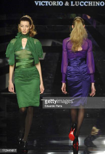 Victorio & Lucchino at Pasarela Cibeles Fall-Winter 2007 / 2008