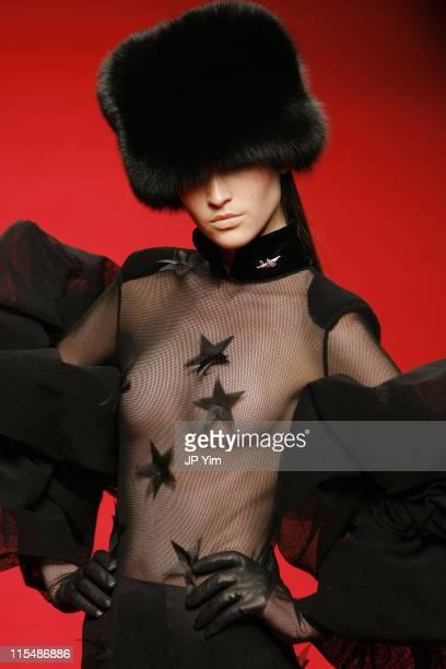 Model wearing YLANG YLANG Fall/Winter 2007 during Tokyo Fashion Week Fall/Winter 2007 - YLANG YLANG - Runway at The Nihombashi tent NORTH in Tokyo,...
