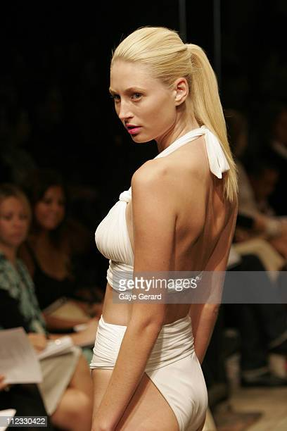 Model Wearing Zimmerman Spring/Summer 2006 Designs
