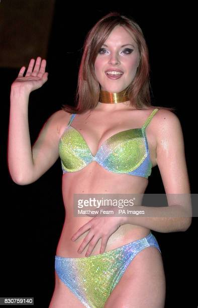 A model wears a bikini by Ultimo during a fashion show in London Ultimo have anounced that they are to abandon their traditional highstreet sales...