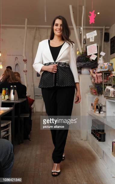 A model wears a creation by fashion designer Guido Maria Kretschmer in  Munich Germany 03 December 5f09588aa2