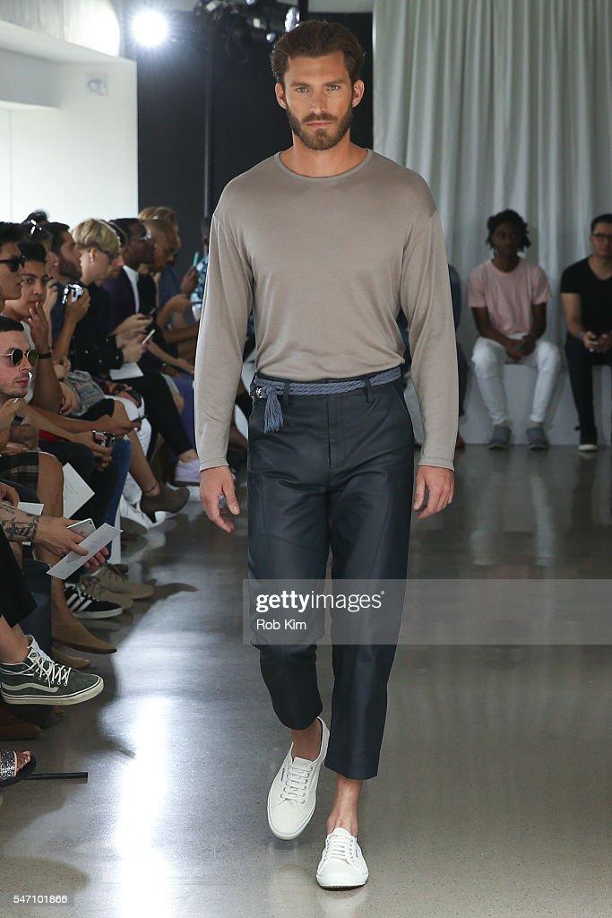 NY: Deveaux - Runway - New York Fashion Week: Men's S/S 2017