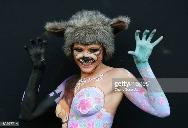 151 World Body Painting Festival Asia Photos And Premium High Res Pictures Getty Images