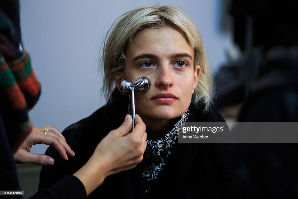 Dr. Jart+ for DKNY Fall/Winter 2016 Show : News Photo