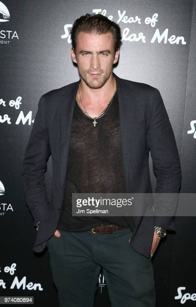 Model William McLarnon attends the screening of 'The Year Of Spectacular Men' hosted by MarVista Entertainment and Parkside Pictures with The Cinema...