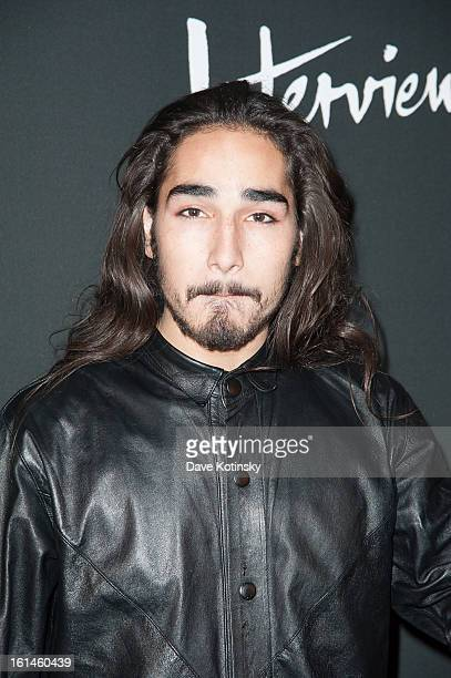 Model willy cartier attends the DSQUARED And Interview Party at Copacabana on February 10 2013 in New York City