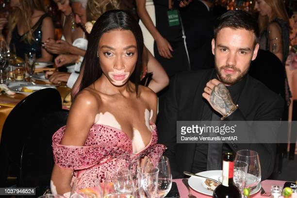 Guests attend amfAR Gala dinner at La Permanente on September 22 2018 in Milan Italy