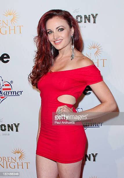 Model / WWE Diva Maria Kanellis arrives at the Benchwarmer Stars And Stripes celebration benefiting Children Of The Night at The Colony on June 29,...
