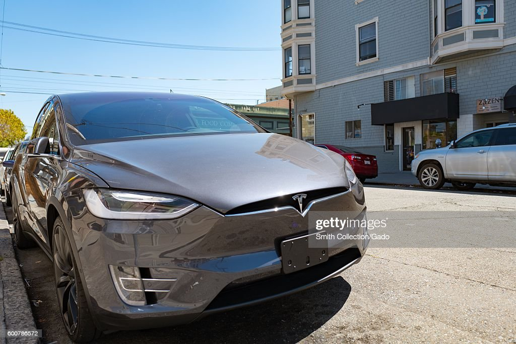 Tesla Model X : News Photo