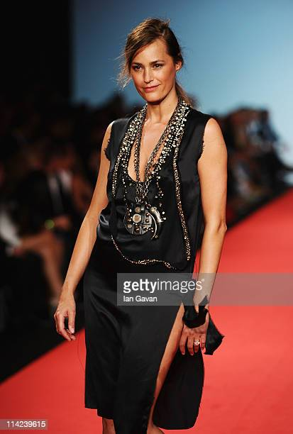 Model Yasmin Le Bon attends Fashion For Relief at Forville market during the 64th Annual Cannes Film Festival on May 16 2011 in Cannes France