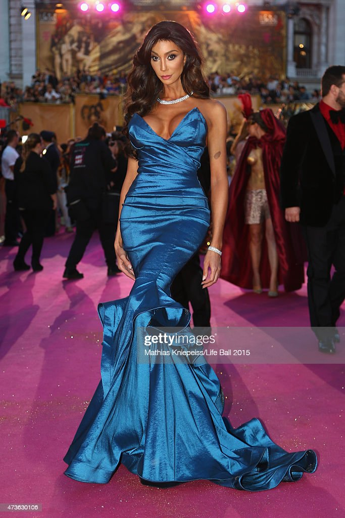 Model Yasmine Petty attends the Life Ball 2015 at City Hall on May 16, 2015 in Vienna, Austria.
