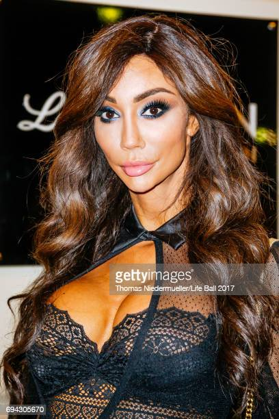 Model Yasmine Petty attends the Life Ball 2017 welcome cocktail at Le Meridien Hotel on June 9 2017 in Vienna Austria The Life Ball an annual charity...