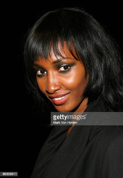 Model Yomi Abiola attends the Kaleidoscope of Dreams for St Jude Children's Research Hospital presented by Design Cares at the Armory on April 30...
