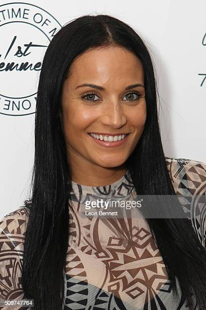Model Zena Foster attended the La'Myia Good Hosts 1st Femme Fragrance Launch on February 11 2016 in Hollywood California