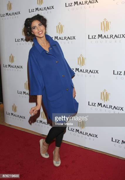 Model Zoe during the Liz Malraux Fashion Show Autumn/Winter 201718 at Hotel Atlantic on August 3 2017 in Hamburg Germany