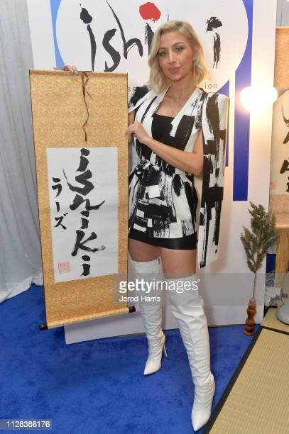 @model_roz attends the GRAMMY Gift Lounge during the 61st Annual GRAMMY Awards at Staples Center on February 08 2019 in Los Angeles California