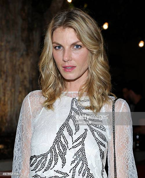 Model/Actess Angela Lindvall attends FORWARD By Elyse Walker TOME Dinner at Terrine on October 15 2015 in Los Angeles California