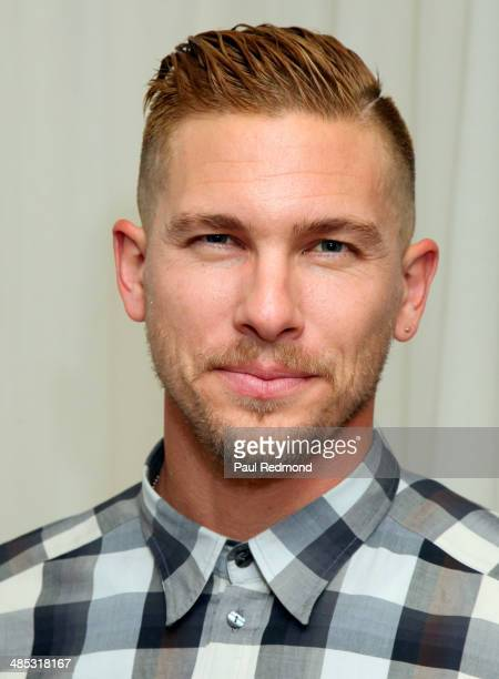 Model/actor Adam Senn attends Full Moon Bazaar hosted By Rachel McCord Jose Ortiz and Jonathan Stinson at SkyBar at the Mondrian Los Angeles on April...