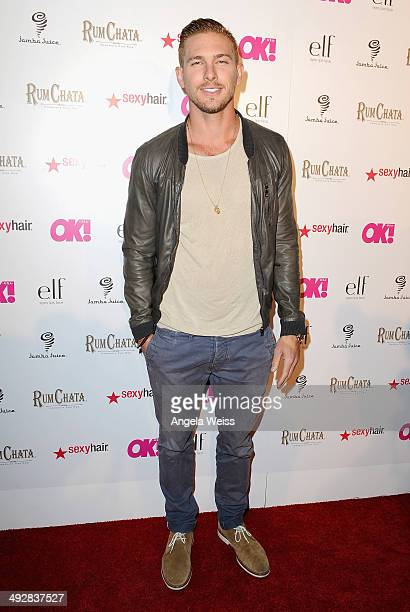 Model/actor Adam Senn attends OK Magazine's So Sexy LA Event at LURE on May 21 2014 in Los Angeles California