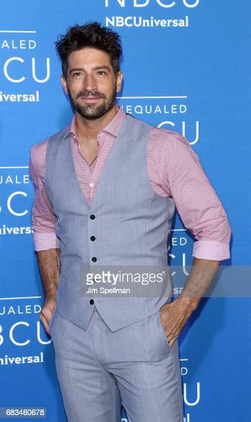 Model/actor David Chocarro attends the 2017 NBCUniversal Upfront at Radio City Music Hall on May 15 2017 in New York City