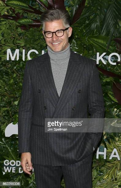 Model/actor Eric Rutherford attends the 11th Annual God's Love We Deliver Golden Heart Awards at Spring Studios on October 16 2017 in New York City