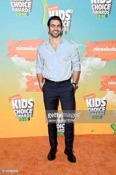 Model/actor Nyle DiMarco attends Nickelodeon's 2016 Kids' Choice Awards at The Forum on March 12 2016 in Inglewood California