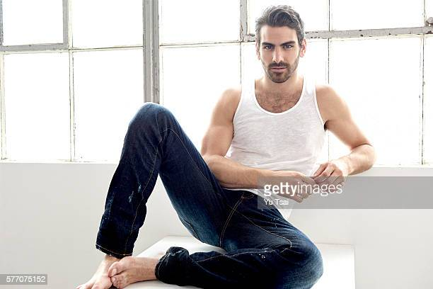 Model/actor Nyle DiMarco is photographed for People Magazine on April 8 2016 in Los Angeles California