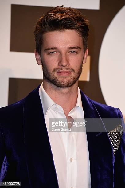 Model/actor Patrick Schwarzenegger attends the TOM FORD Autumn/Winter 2015 Womenswear Collection Presentation at Milk Studios in Los Angeles on...