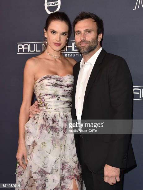 Model/actress Alessandra Ambrosio and Jamie Mazur attend the 2017 Baby2Baby Gala at 3LABS on November 11 2017 in Culver City California