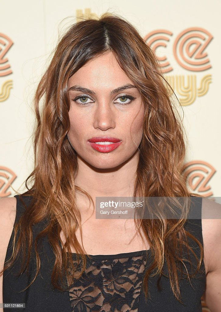 Model/actress Alina Puscau attends 'The Nice Guys' New York screening at Metrograph on May 12, 2016 in New York City.