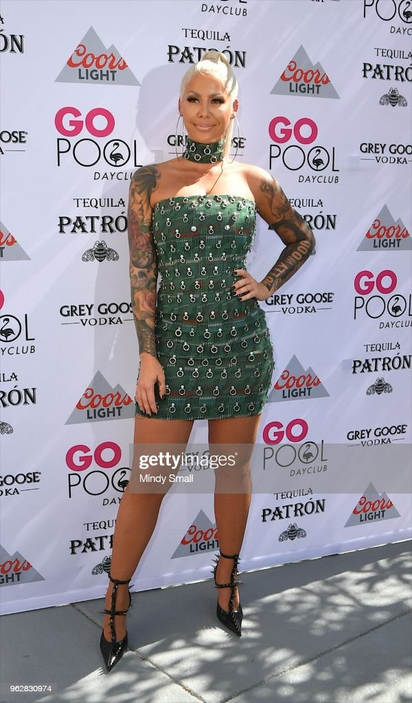 Amber Rose Hosts At The Flamingo Go Pool Dayclub