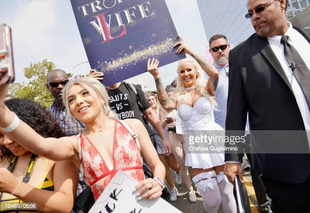 Model/actress Amber Rose seen at the 4th Annual Amber Rose SlutWalk on October 6 2018 in Los Angeles California