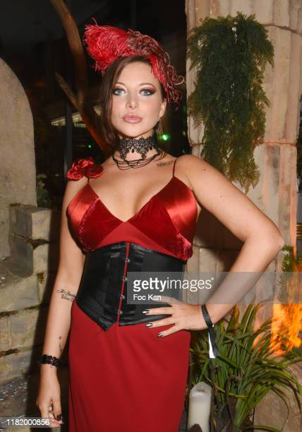 Model/actress Anna Polina attends the Bal Masque de Monsieur D At Pavillon d'Armenonville on October 18 2019 in Paris France