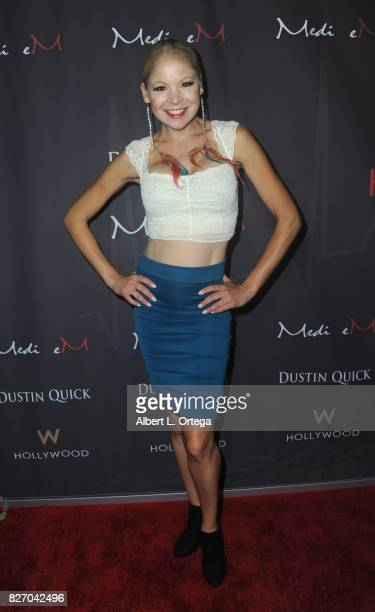 Model/actress Anne McDaniels at the Music Video Premiere HEARTBEAT by Medi eM Dustin Quick held on August 5 2017 at Statioh W Hotel in Hollywood...