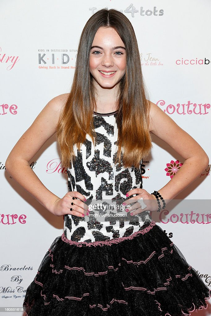 Model/actress Ava Allan attends the 4th Annual Tutus4Tots Event at Together We Rise on February 2, 2013 in Chino, California.