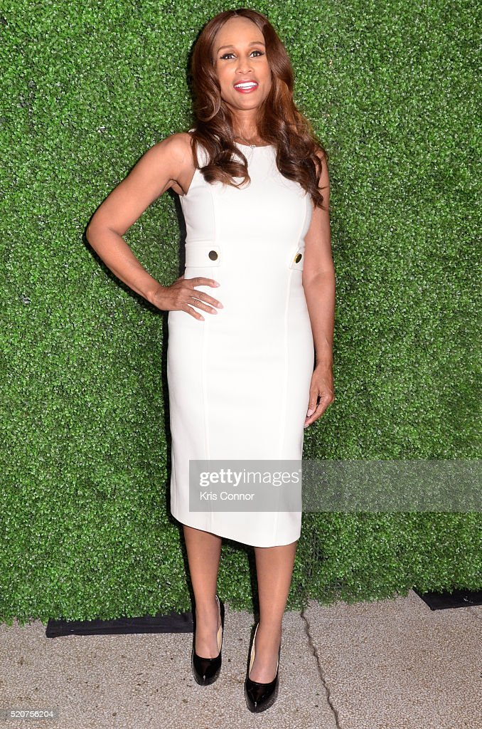 Model/actress Beverly Johnson attends the World Food Program USA's 2016 McGovern-Dole Leadership Award Ceremony at the Organization of American States on April 12, 2016 in Washington, DC.