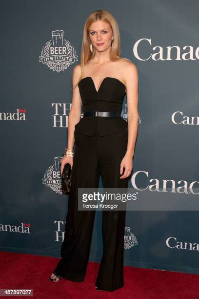 Model/actress Brooklyn Decker attends The Hill's and Entertainment Tonight's celebration of the 100th White House Correspondents' Association Dinner...