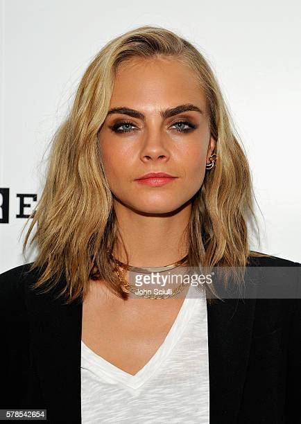 Model/actress Cara Delevingne attends WIRED Cafe during ComicCon International 2016 at Omni Hotell on July 21 2016 in San Diego California
