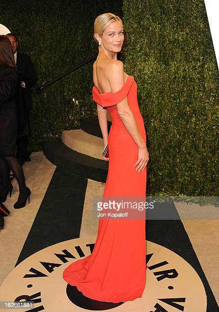 Model/actress Carolyn Murphy attends the 2013 Vanity Fair Oscar party at Sunset Tower on February 24 2013 in West Hollywood California