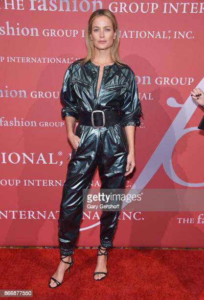 Model/actress Carolyn Murphy attends the 2017 FGI Night Of Stars Modern Voices gala at Cipriani Wall Street on October 26 2017 in New York City