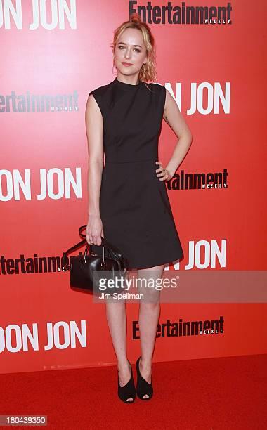 Model/actress Dakota Johnson attends Don Jon New York Premiere at SVA Theater on September 12 2013 in New York City