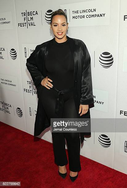 Model/actress Dascha Polanco attends 'A Hologram For The King' World Premiere at the John Zuccotti Theater at BMCC Tribeca Performing Arts Center on...