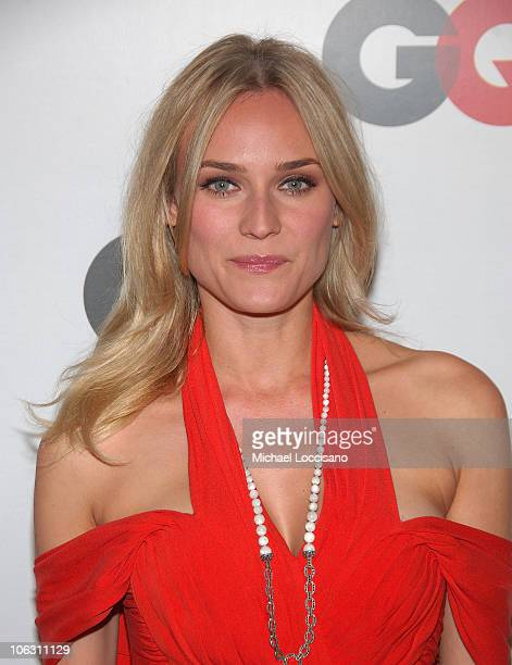 Model/actress Diane Kruger arrives to GQ's 50th Anniversary Celebration at Cedar Lake in New York City on September 18 2007